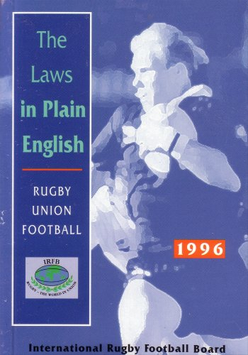 9780952373506: The Laws in Plain English: Rugby Union Football 1996