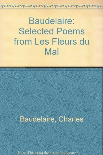 9780952373803: Baudelaire: Selected Poems from