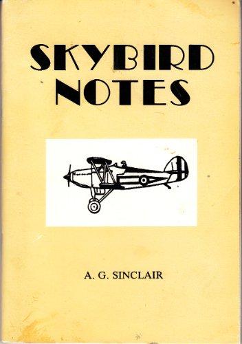 Skybird Notes: Sinclair, Algernon Gordon
