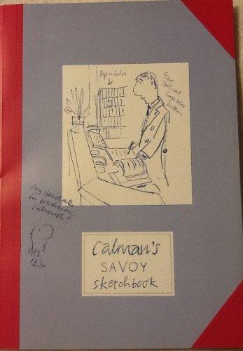 Calman's Savoy Sketchbook: Mel Calman