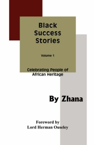 9780952555834: Black Success Stories Volume 1