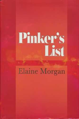 Pinker's List (0952562022) by Morgan, Elaine