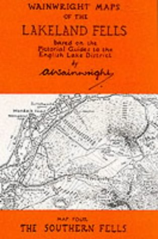 9780952653004: Wainwright Maps of the Lakeland Fells: Southern Fells Map 4 (Wainwright Maps (of the Lakeland Fells))