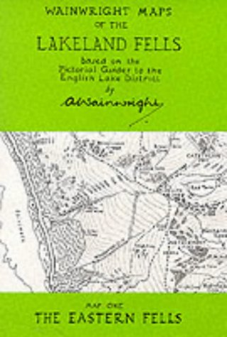 9780952653028: Wainwright Maps of the Lakeland Fells
