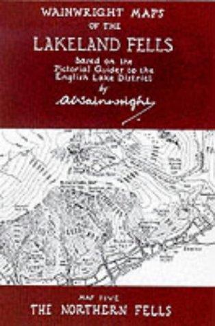 9780952653066: Wainwright Maps of the Lakeland Fells