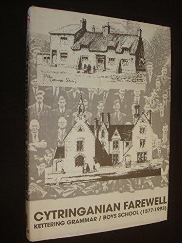 9780952678205: Cytringanian Farewell