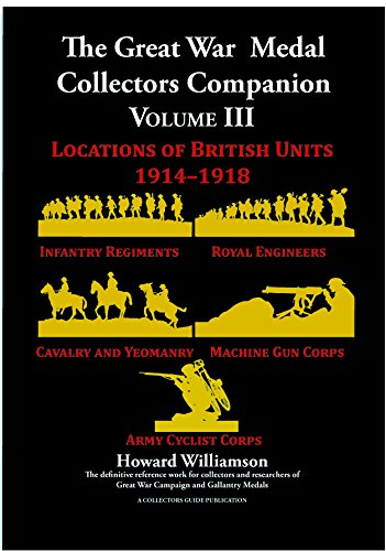 9780952754466: The Great War Medal Collectors Companion Volume III