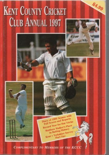 Kent County Cricket Club Annual 2001: Edited by John Evans. Statistics by Howard Milton
