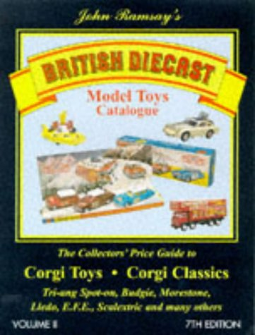 British Diecast Model Toys Catalogue: Corgi Toys