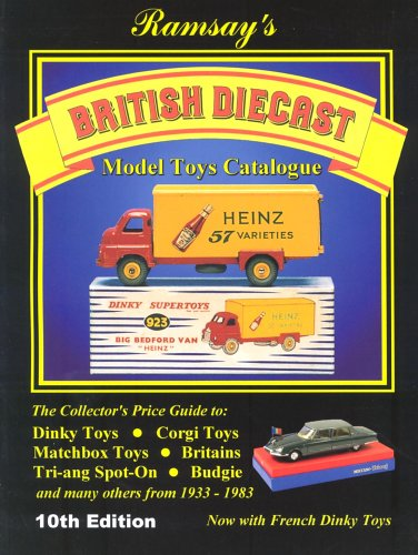 9780952835288: British Diecast Model Toys Catalogue
