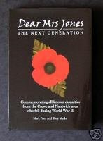 DEAR MRS JONES The Next Generation 1939-1945: Mark & Tony.