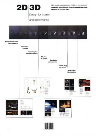 9780952930921: 2D > 3D: Design for Theatre and Performance