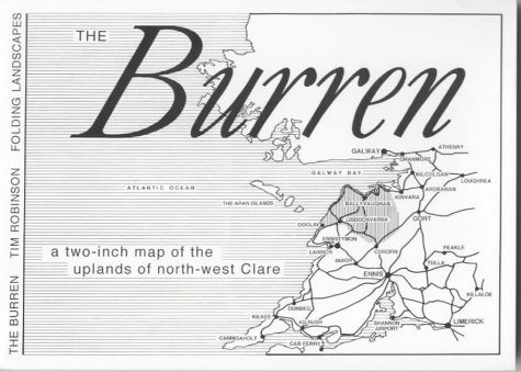 9780953050918: The Burren: A Two Inch Map of the Uplands of North-west Clare