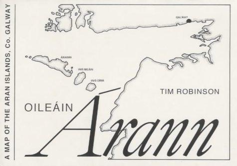 9780953050925: Oileain Arann: A Map of the Aran Islands, Co. Galway