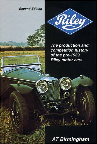 9780953072101: Riley (Motoring classics series)