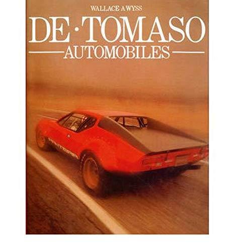 9780953072170: De Tomaso Automobiles