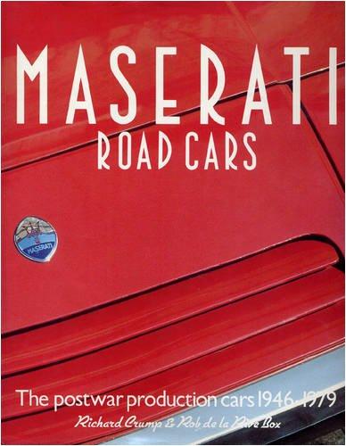 9780953072187: Maserati Road Cars. (The post war production cars 1946 - 1979)