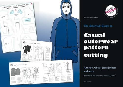 9780953239580: Essential Guide To Casual Outerwear Pattern Cutting: Anoraks,Gilets,Jeans Jackets and More