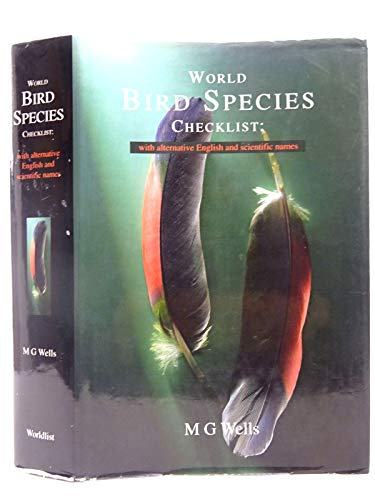 9780953242009: World Bird Species Checklist: With Alternative English and Scientific Names
