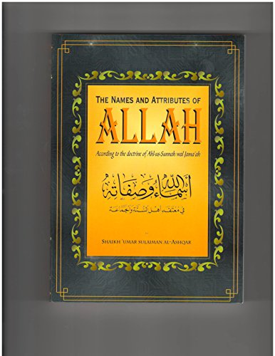9780953301928: THE NAME AND ATTRIBUTES OF ALLAH ACCORDING TO THE DOCTRINE OF AHL AS SUNNAH WAL JAMA'AH