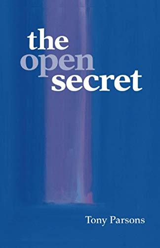 9780953303205: The Open Secret