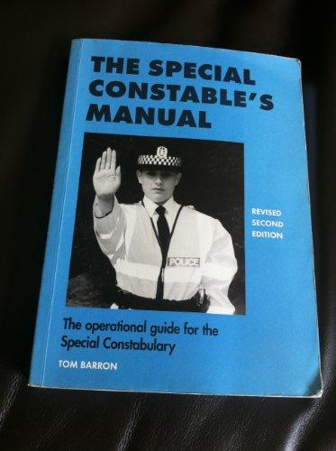 9780953305865: Special Constable's Manual