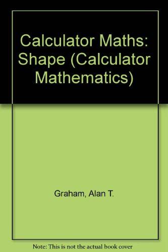 9780953313730: Calculator Maths: Shape (Calculator Mathematics)