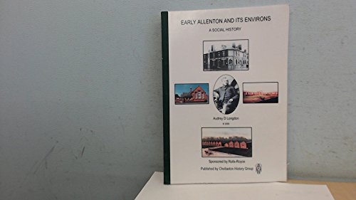 9780953341016: Early Allenton and Its Environs: A Social History