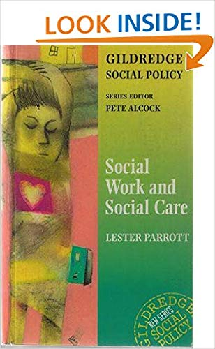 9780953357116: Social Work and Social Care (The Gildredge Social Policy Series)