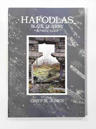 hafodlas slate quarry bettws-y-coed: griff r.jones