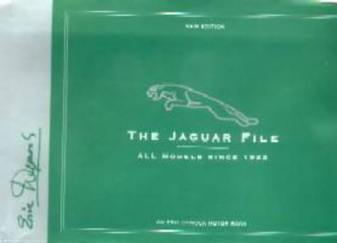 9780953414222: The Jaguar File: All Models Since 1922 (Eric Dymock Motor Book)