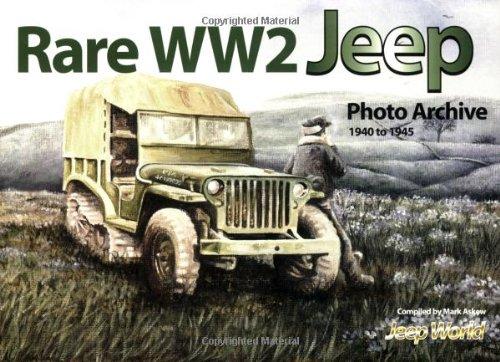 RARE WW2 JEEP PHOTO ARCHIVE 1940 to: ASKEW. M