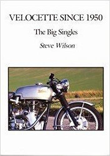 9780953509881: Velocette Since 1950: The Big Singles