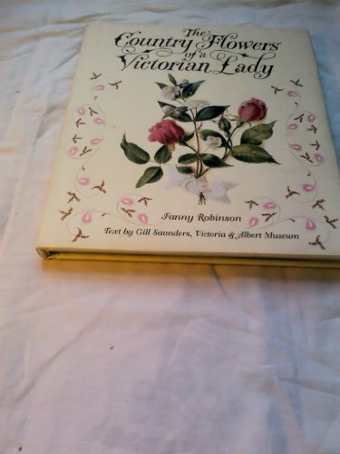 9780953578412: The Country Flowers of a Victorian Lady Visiting Card Album