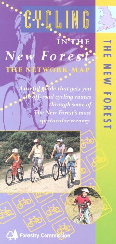 9780953581801: Cycling in the New Forest: The Network Map