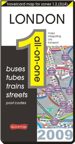 9780953592463: London All-on-One: Buses, Tubes, Train, Streets, Post Codes