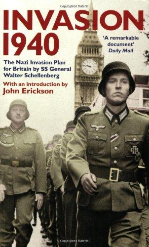 9780953615131: Invasion 1940: The Nazi Invasion Plan for Britain by SS General Walter Schellenberg