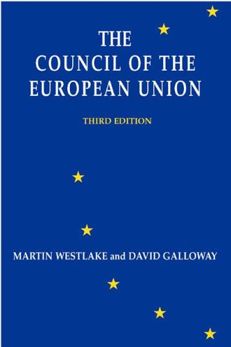 9780953627882: The Council of the European Union
