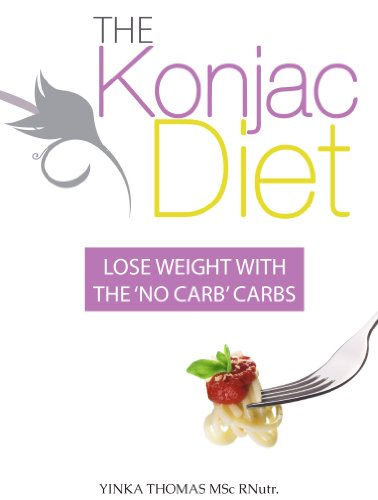 9780953643660: The Konjac Diet - Lose weight with 'no carb' carbs. And no more cravings for carbs.