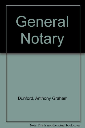 9780953682508: General Notary