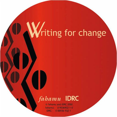 Writing for Change Barker, Alan and Manji,