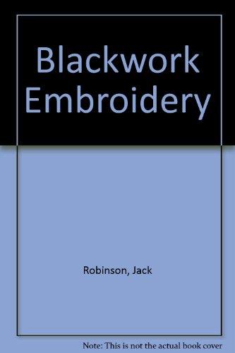 9780953713004: Blackwork Embroidery