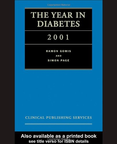 The Year in Diabetes 2001: CRC Press