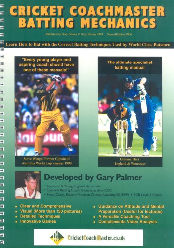 9780953749508: Cricket Coachmaster: Batting Mechanics