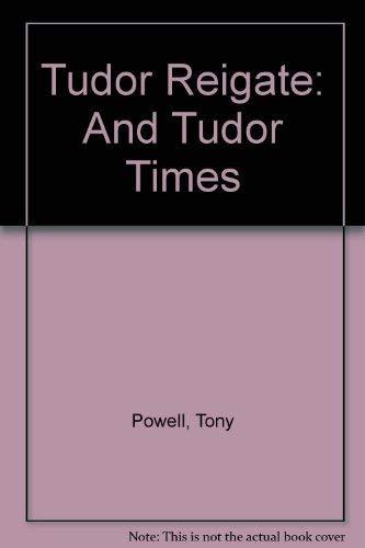 9780953753246: Tudor Reigate: And Tudor Times