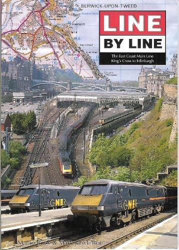 9780953754021: Line by Line: The East Coast Main Line (Line by line)