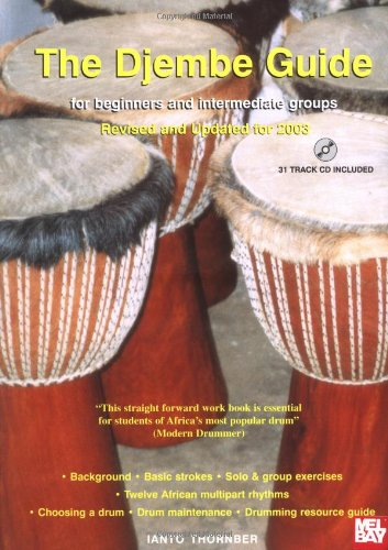 9780953818105: Djembe Guide: For Beginners and Intermediate Groups