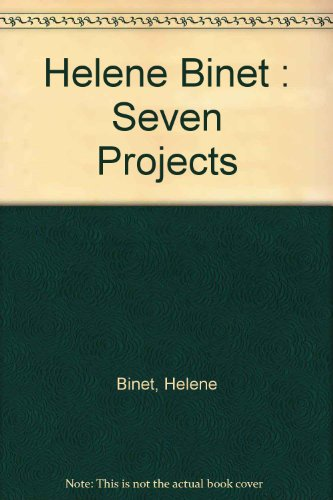9780953845132: Helene Binet: Seven Projects
