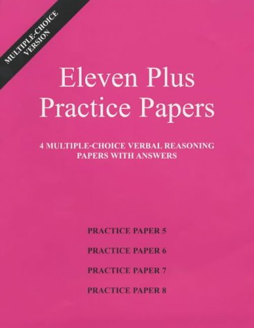 Eleven Plus Practice Papers 5 to 8: AFN Publishing