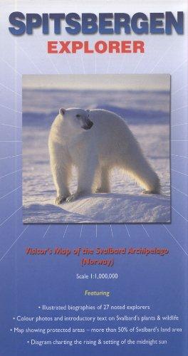9780953861811: Spitsbergen Explorer: Visitor's Map of the Svalbard Archipelago (Norway) (Ocean Explorer Maps)